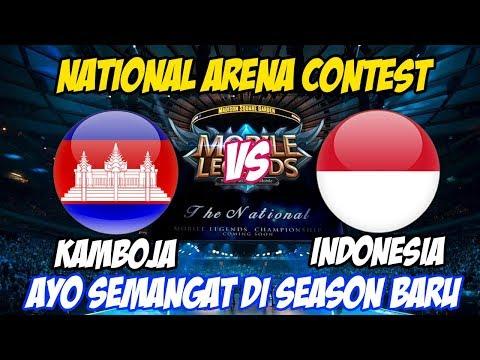 LIVE !!! GASS TERUS SLOORR !! NATIONAL ARENA CONTEST Indonesia VS Kamboja - 24 November 2019