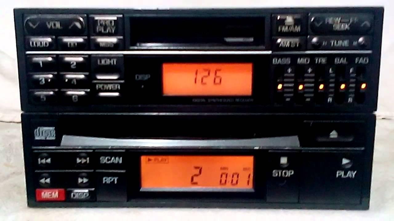 vintage mitsubishi eclipse 3000gt dodge stealth am/fm car ... 1992 dodge dakota stereo wiring diagram