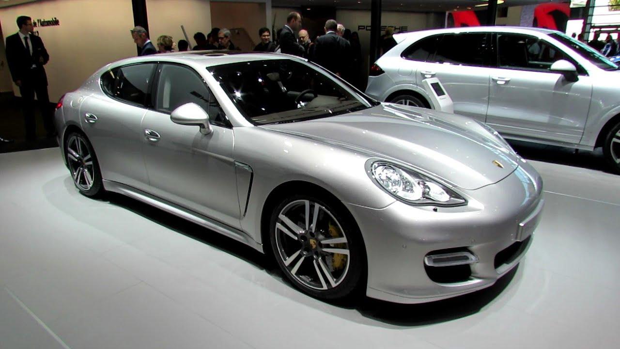 Porsche Macan Gts Interior >> 2012 Porsche Panamera Turbo S - Exterior and Interior ...