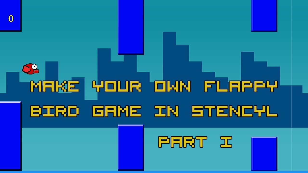 Build your own Flappy Bird game with Cocos Creator (Part 1)
