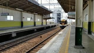 近鉄16000系(Y09)特急大阪阿部野橋行き 南大阪線矢田通過