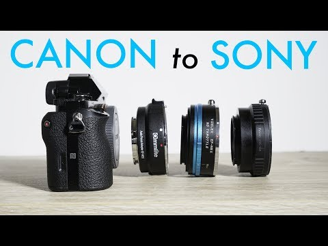 Best Canon Lens to Sony Adapters