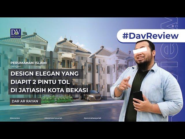 #DavReview | Perumahan Islami yang Diapit 2 Pintu Tol di Jatiasih, Kota Bekasi