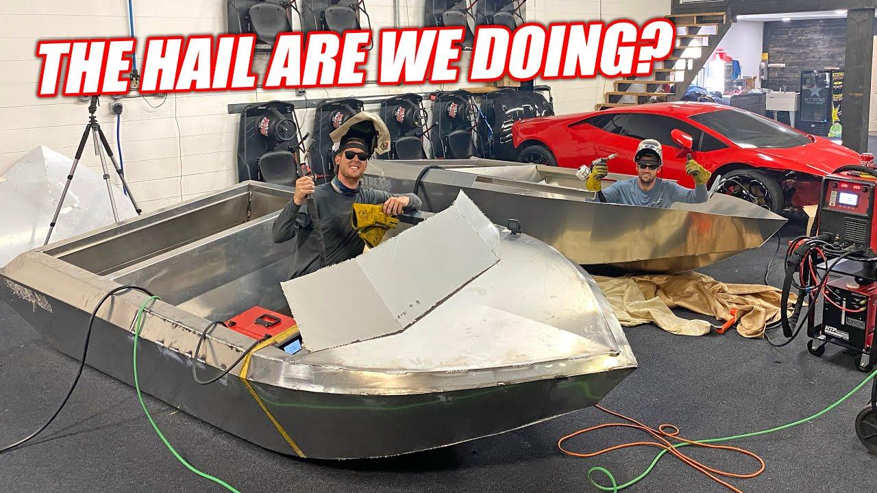 Introducing MCFARLAND MARINE!!! Florida Men Hand Build Supercharged Aluminum Jet Boats!!!