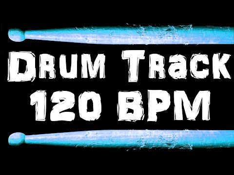 Drum Beat 120 BPM Funk Rock Bass Guitar Backing Jam Track Free MP3 Download Loop #46