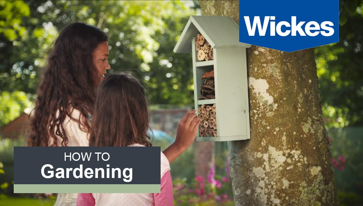 How To Build A Bee Hotel With Wickes Youtube