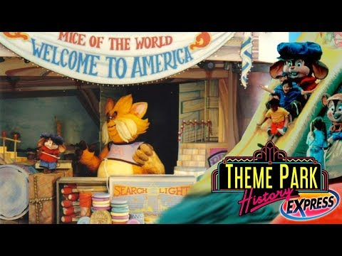 The Theme Park History Express of An American Tail Theater (Universal Studios Hollywood/Florida)