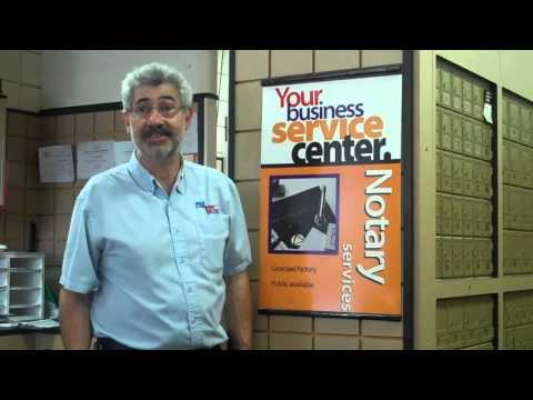 Postal Box and Ship Notary Public Service by Joe Pavone CEO and Owner