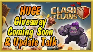 Clash of Clans - NEW Golem Level 5 & Regular Daily Gameplay (HUGE Giveaway Soon)