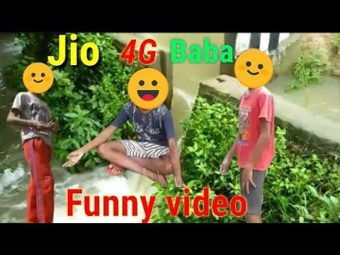 Khane Ki Problem Jio 4G Baba Funny Video |Fun & Tech|