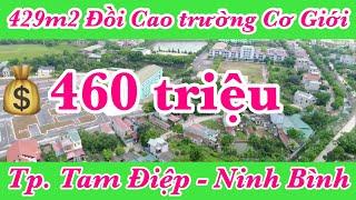 Bán đất 429m2 Đồi Cao phường Yên Bình | Thành phố Tam Điệp tỉnh Ninh Bình | Long Việt BĐS 0859287777