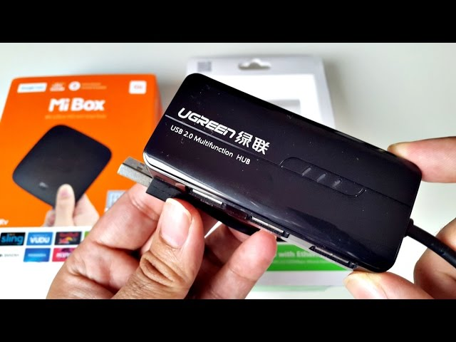 Usb Ethernet Hub Works With Xiaomi Mi Box Laptops Tablets Smartphones Youtube