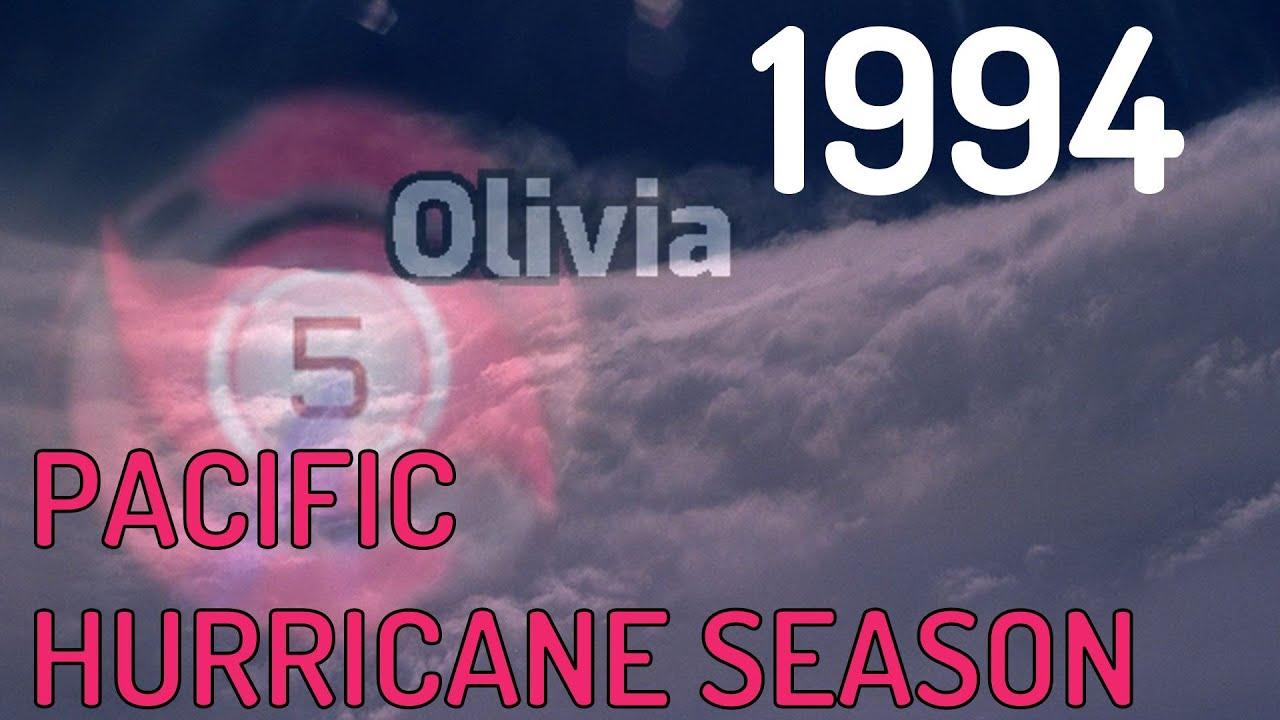 1994 Pacific Hurricane Season Animation v2