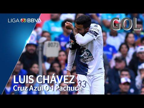 Gol de L. Chávez | Cruz Azul 1 - 1 Pachuca | Liga BBVA MX - CL 2020  - Jornada 5