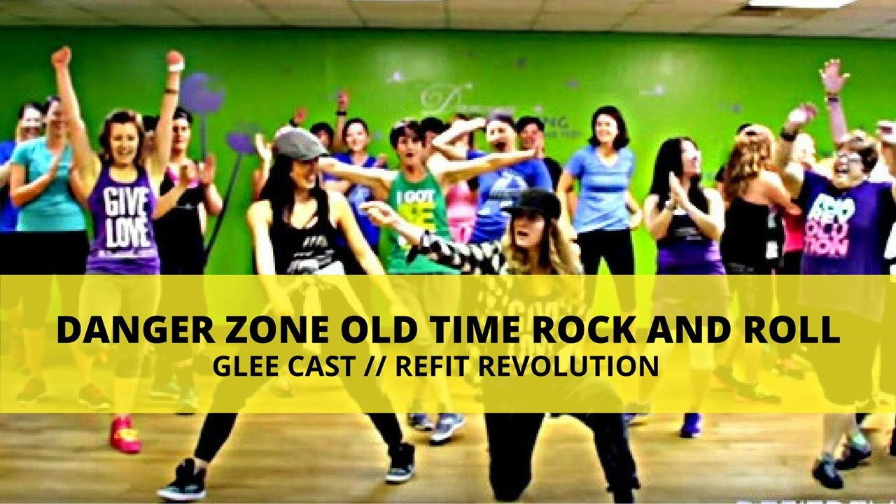 Danger Zone Old Time Rock And Roll Mashup Dance Fitness