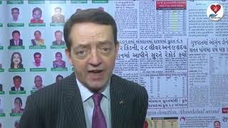 Mr Geoff Wain words for Donate life | Organ donation | Surat