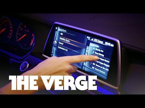 The tablets and gestures in BMW's future - CES 2015