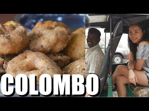 COLOMBO, Sri Lanka - 1st Day and 1st Meals