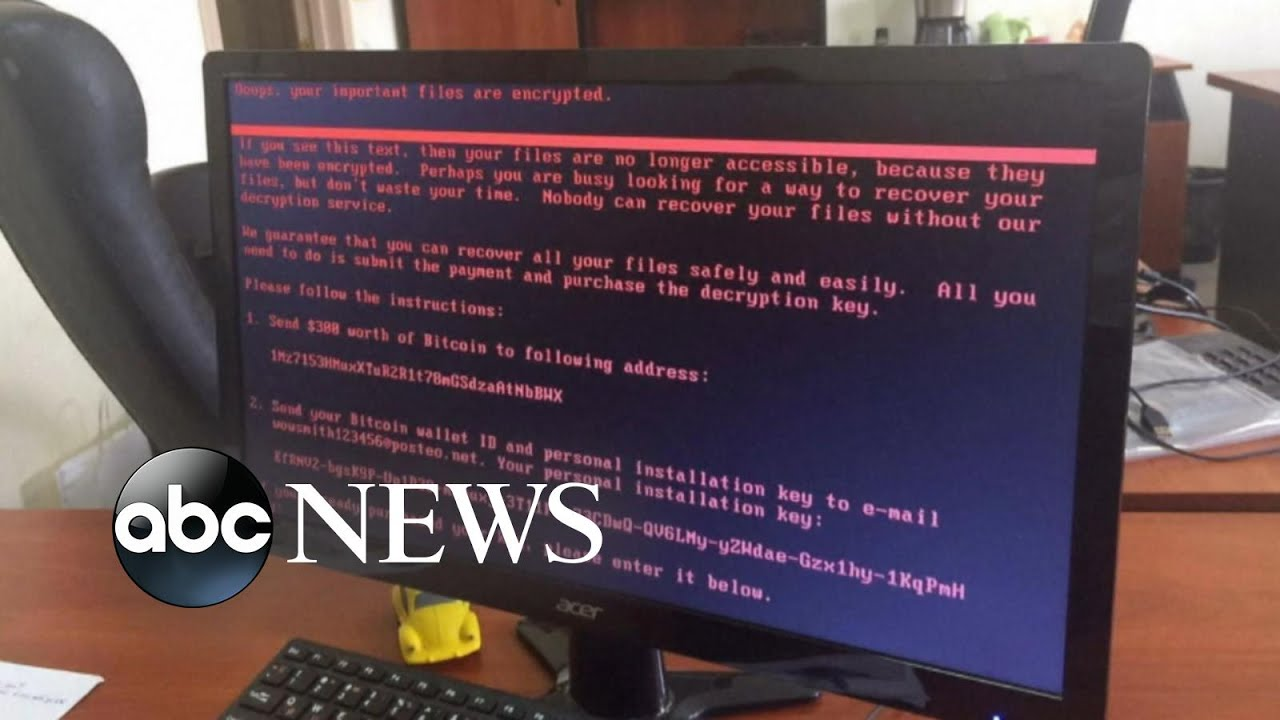 Tens of thousands of computers hit by global cyberattack