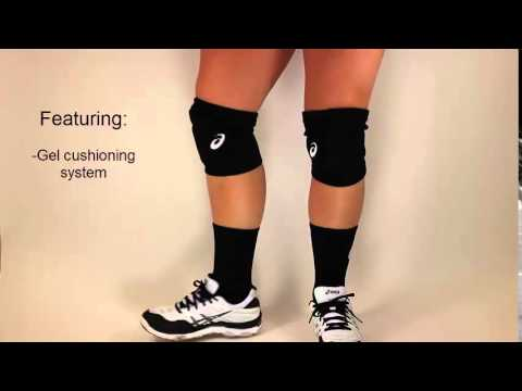 asics low profile knee pads review