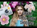 Get Ready With Me / VLOG: сказочная фотосессия | вечерний макияж | Гомзячка