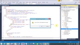 How to design master page or layout page in MVC part-5