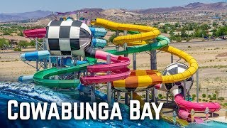 WATERPARK IN LAS VEGAS: Cowabunga Bay (Water Slides POV)