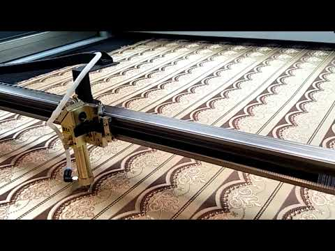 Large vision cutting jacquard curtains