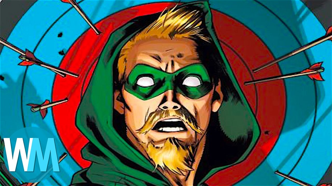 top 10 coolest green arrow facts youtube