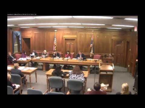 Burlington County Board of Chosen Freeholders Public Meeting 2/5/14