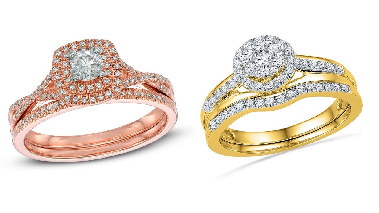 Top Bridal Ring Designs    दुल्हन की अंगूठी ...