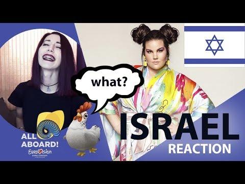 Netta - TOY Israel Eurovision 2018 reaction / Израиль Евровидение 2018 реакция