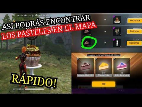 YA SE PUEDE CONSEGUIR LOS PASTELES DE MORA POR EL MAPA DE FREE FIRE/RECLAMA EL EMOTE BAILE DE FIESTA