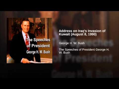 Address on Iraq
