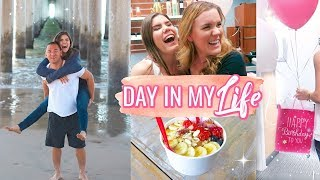 DAY IN THE LIFE! SURPRISE + Eats + Church
