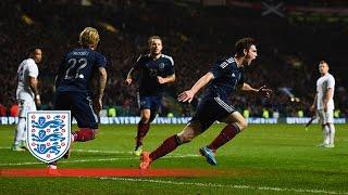 Robertson goal - Scotland 1-3 England | Goals & Highlights