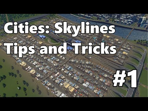 Cities: Skylines - Tips and Tricks #1 - Efficient Industrial Zone