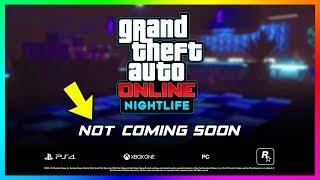 GTA Online Nightclub DLC DELAYED! - NO June Update Coming, Release Date Information & MORE! (GTA 5)