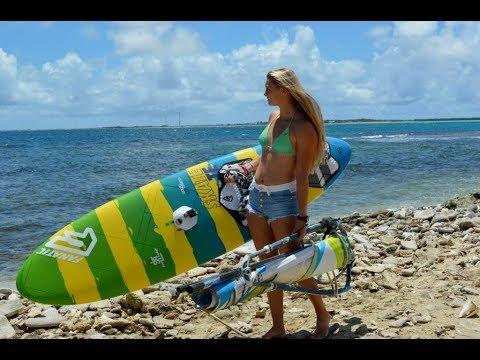 Extreme Windsurfing At Hookipa Beach