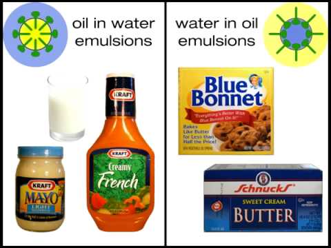 Nature And Use Of Emulsifiers In Foods Youtube