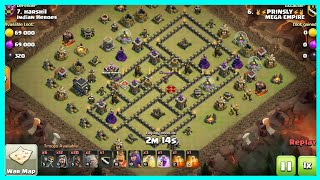 Learn how to 3 Star Weird TH9 War Bases | Clash of Clans