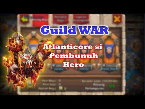 Cara Menggunakan Atlanticore Untuk WAR | Castle Clash | Guild War