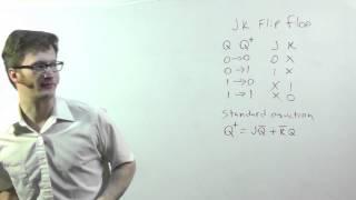 Digital Logic - Excitation Tables and Standard Equations for Flip-Flops