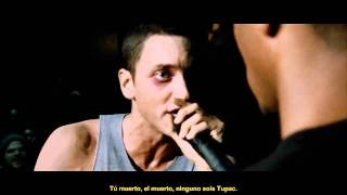 8 Mile Final Battle Eminem VS Papa Doc subtitulada en español (HD Video Audio)