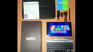 axioo windroid 9g unboxing
