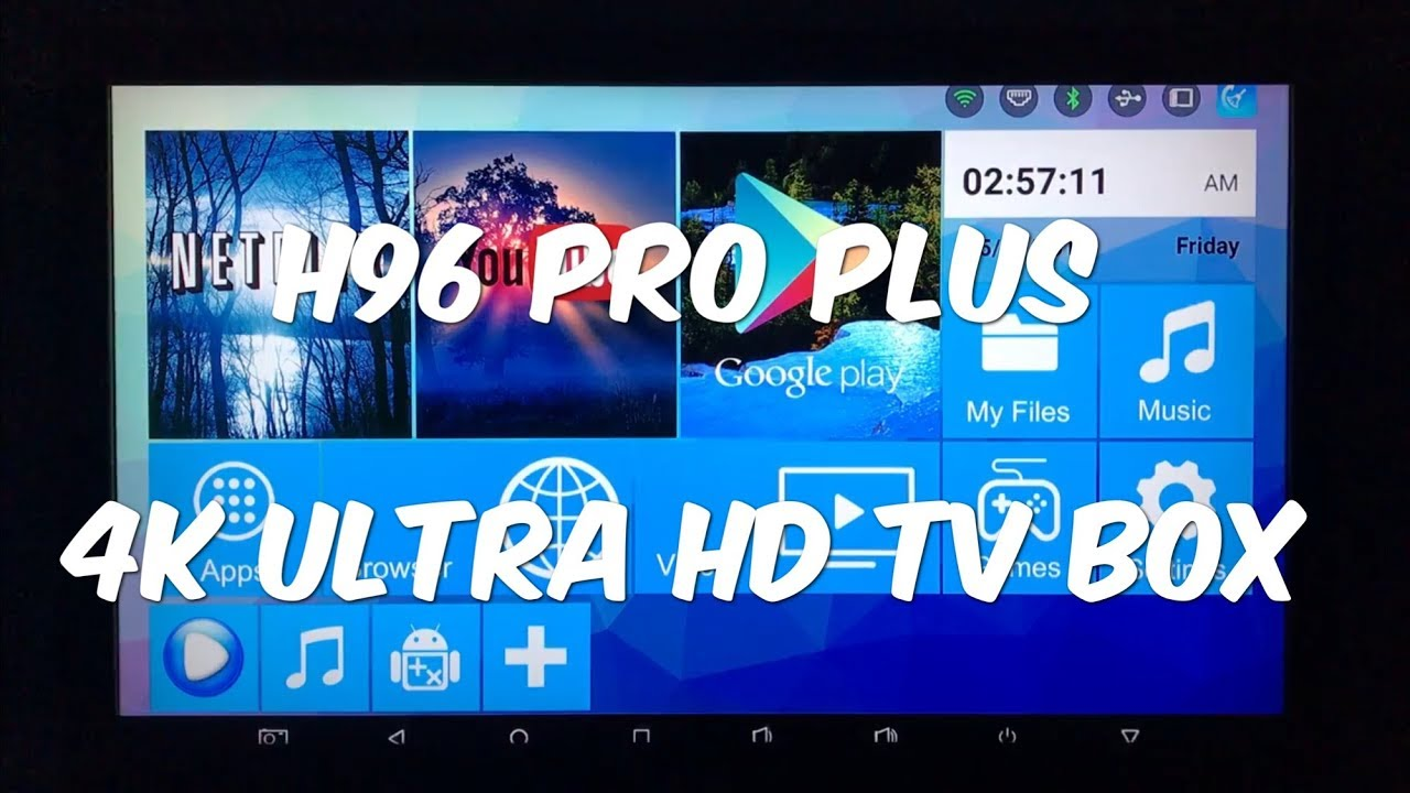 H96 Pro Plus Amlogic S912 Octa Core 3gb Ram 32gb Rom Tv Box Youtube Android Octacore