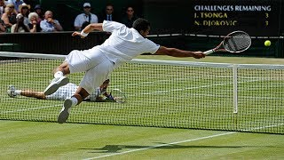 20 Crazy Diving Shots The Tennis World Will NEVER Forget (RARE)