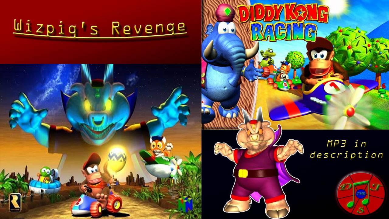 Diddy Kong Racing Remix - Wizpig's Revenge [Wizpig Race ...