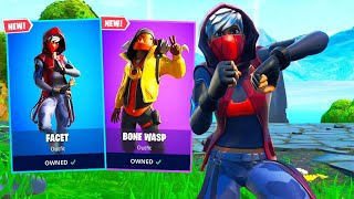New FACET AND BONE WASP SKINS in Fortnite!