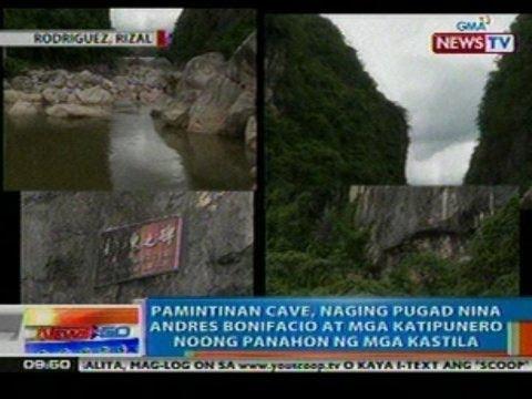 NTG: Pamintinan Cave sa Rodriguez, Rizal, naging pugad nina Andres Bonifacio at mga katipunero